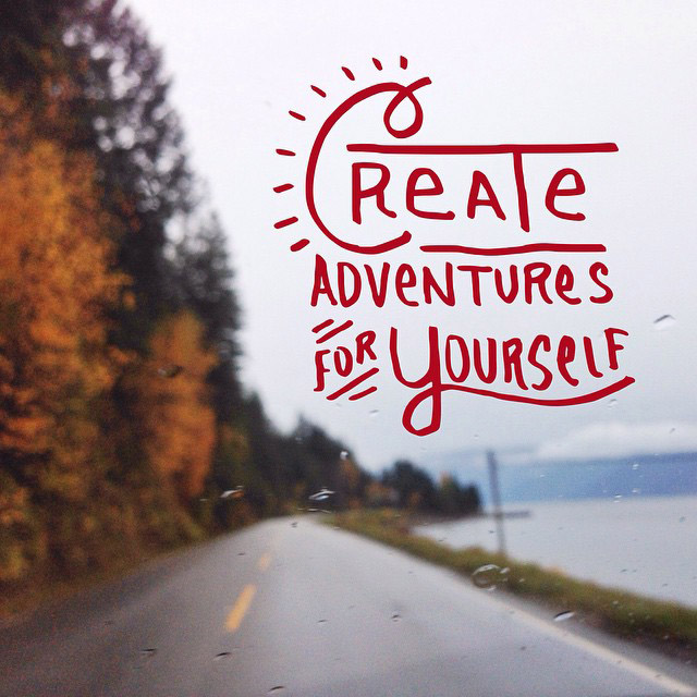 Whether it's one hour, one day, or one year ... Just go! #adventure