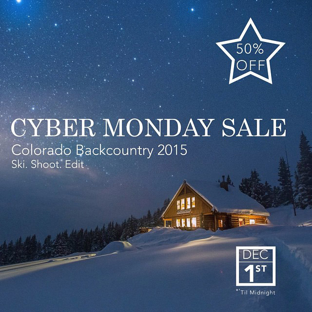 Our Colorado Backcountry course is 50% off until midnight. Catch it >> http://goafs.co/cobc2015 #cybermonday #ski #colorado
