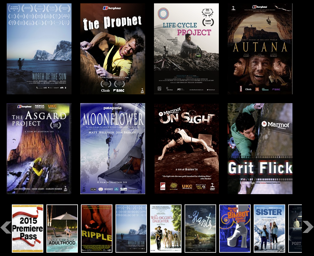 Film Festival Flix Mountain & Adventure Film Library