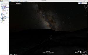 Google Earth Milky Way