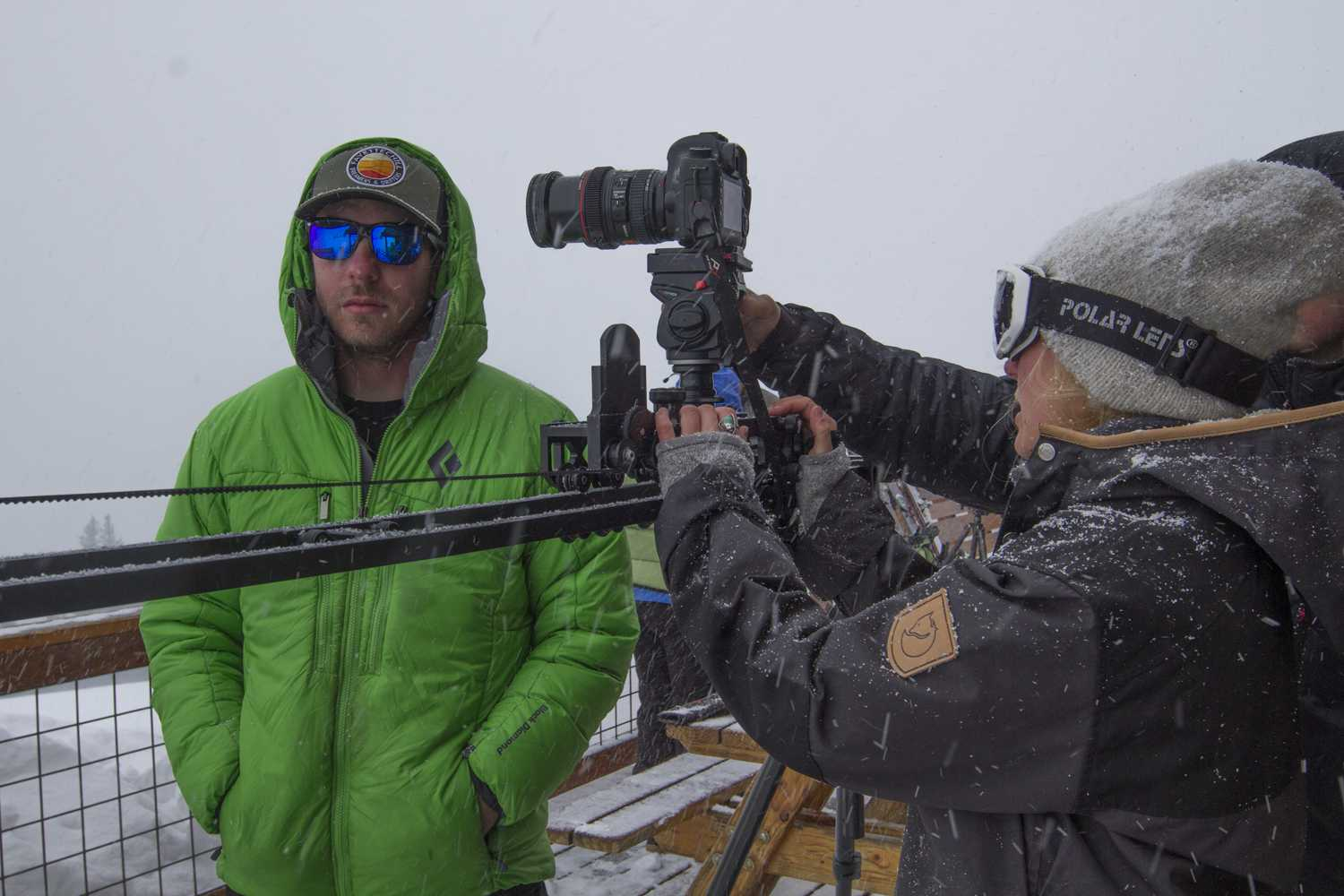 broll shooting in Colorado back country