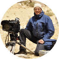 Keith Partridge, Instructor for Adventure Film School on location