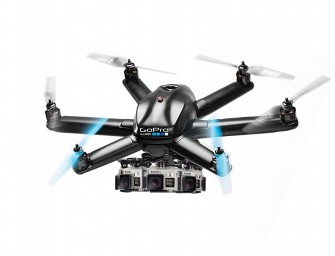 GoPro's Adventure Drone: The Hexocopter