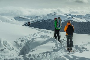Skiing in the Colorado Back Country